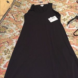 Solid black Dani dress